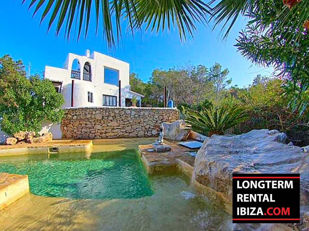 Long term rental Villa Sunset Ibiza