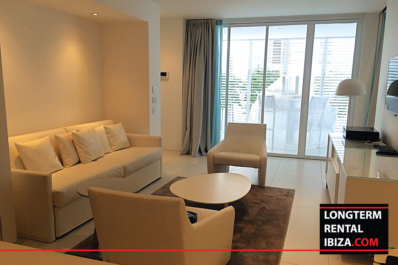 Long term rental ibiza Apartment Patio Blanco Double