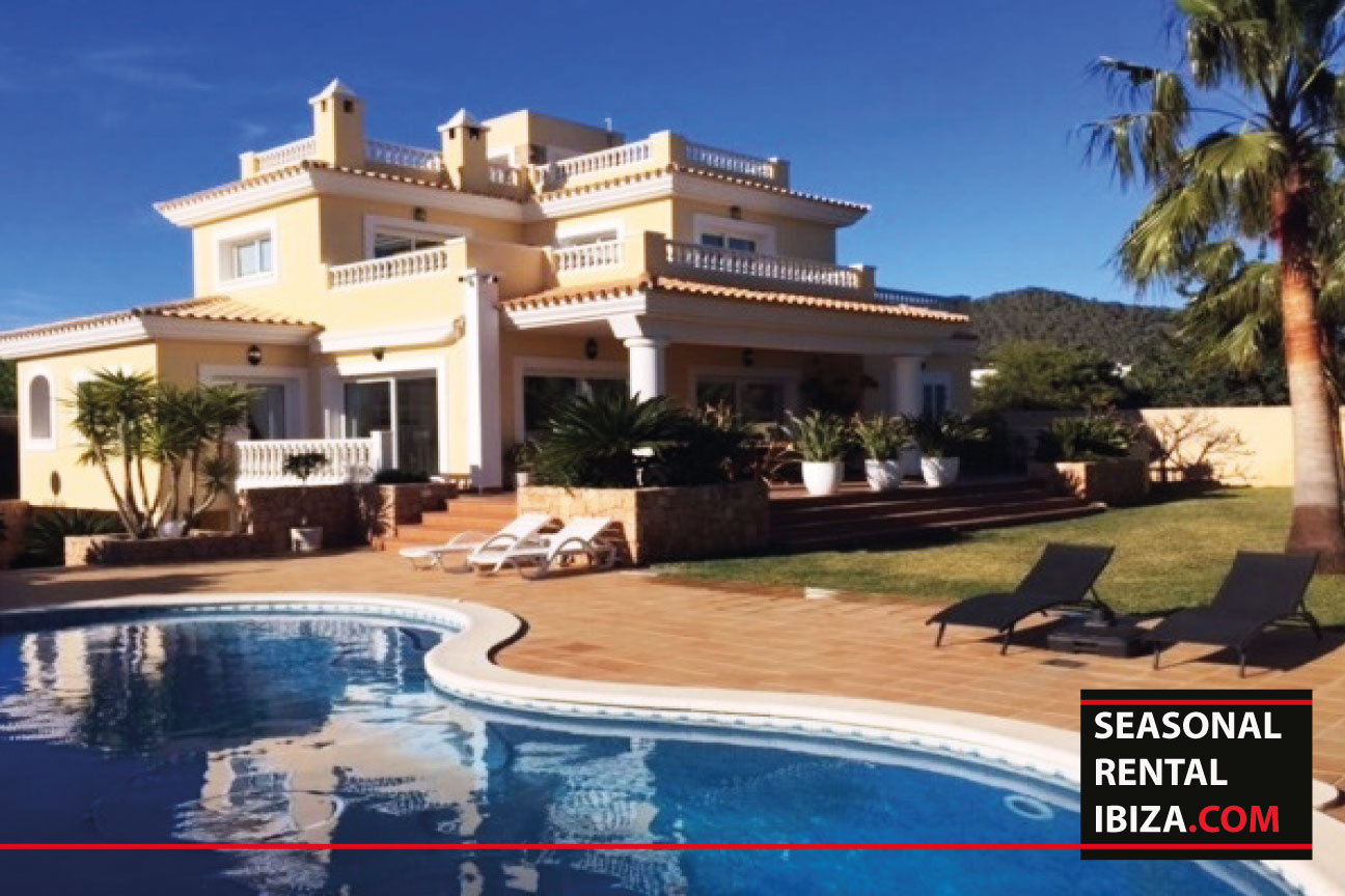 Seasonal rental ibiza villa cola long term rental for Villas ibiza