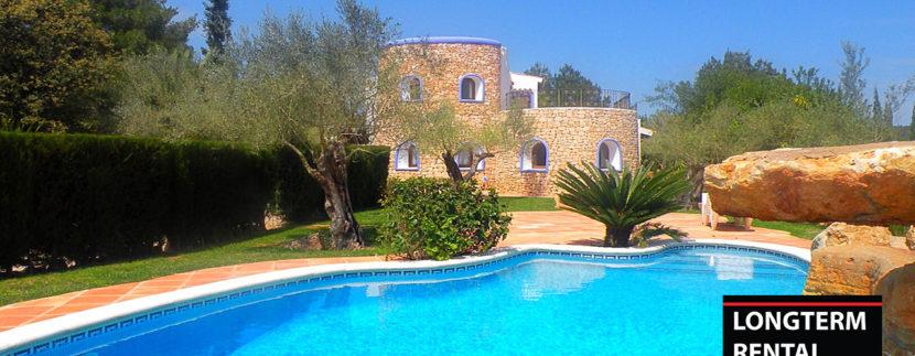 Long term rental Ibiza Villa Rafa