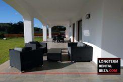 Long term rental Ibiza Villa Terrassa 004