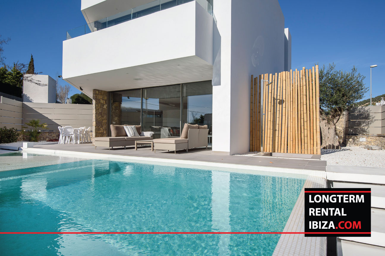 Long term rental ibiza Villa Punta Vista Buena