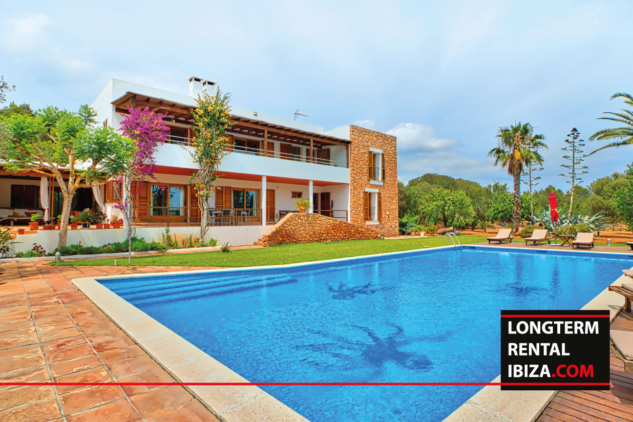 Long term rental Ibiza Villa Retreat