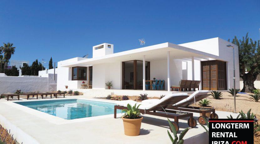 long term rental Ibiza Villa summer style