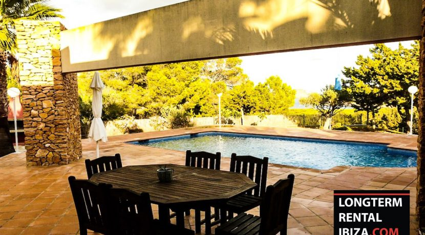 Long term rental Ibiza Villa Peralta