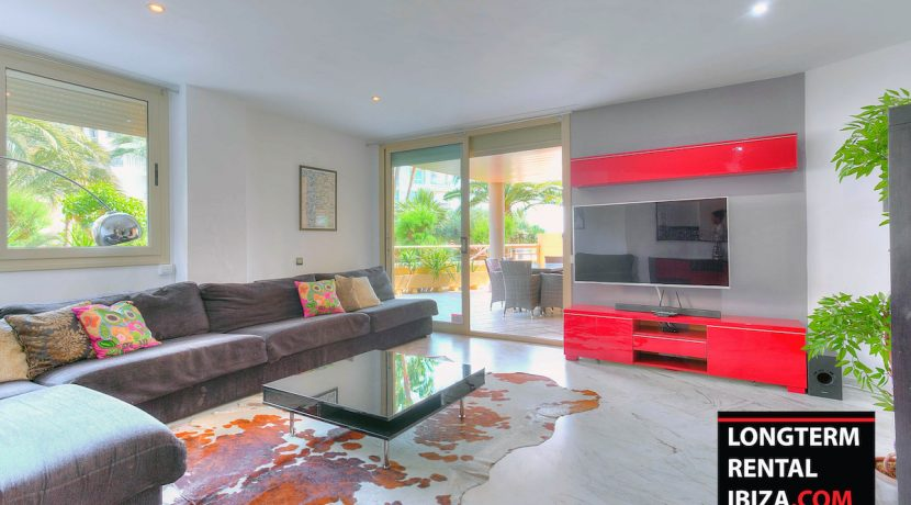 Long term rental ibiza Apartment Bossa Beach 1
