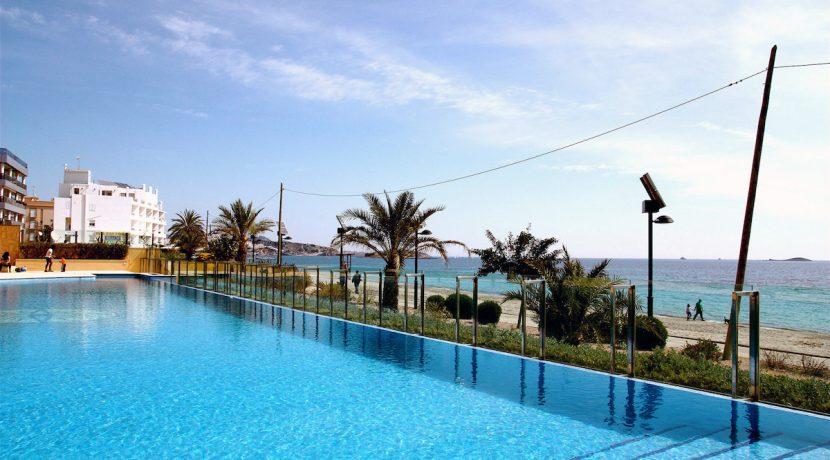 Long term rental ibiza Apartment Bossa Beach 29