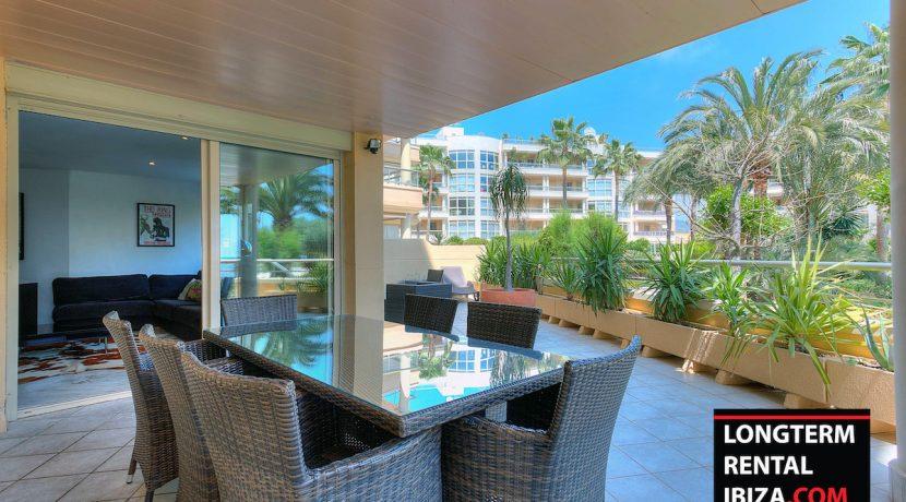 Long term rental ibiza Apartment Bossa Beach 3
