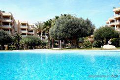 Long term rental ibiza Apartment Bossa Beach 30
