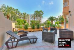 Long term rental ibiza Apartment Bossa Beach 4