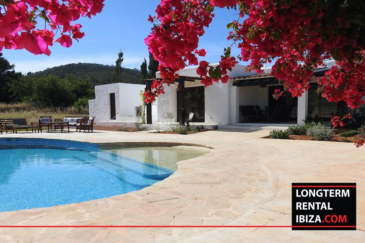 Long term rental ibiza Villa Boix - annual renal Ibiza
