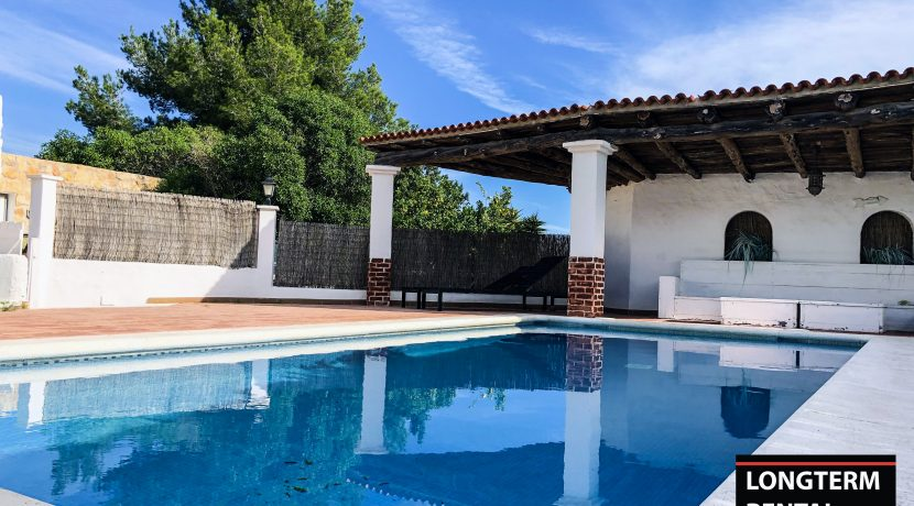 Long term rental Ibiza Villa Marian 1