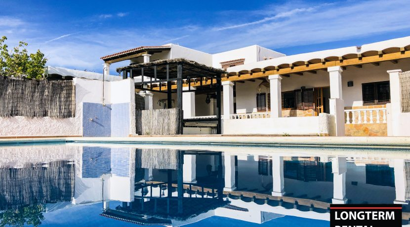 Long term rental Ibiza Villa Marian