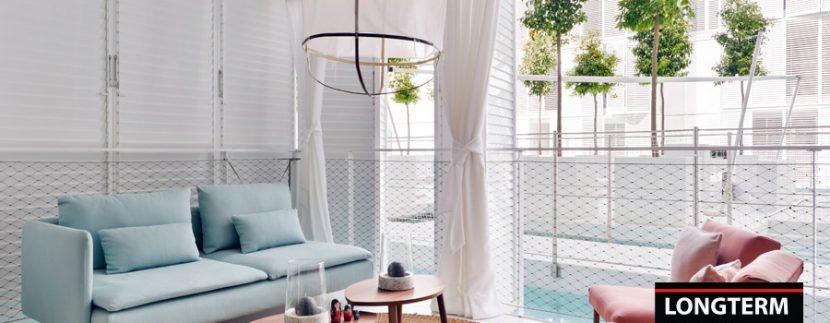 Long term rental Ibiza Patio Blanco with garden