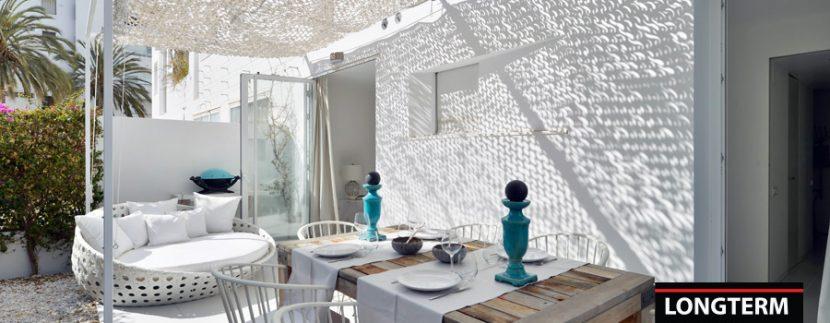 Long term rental Ibiza Patio Blanco with garden 18