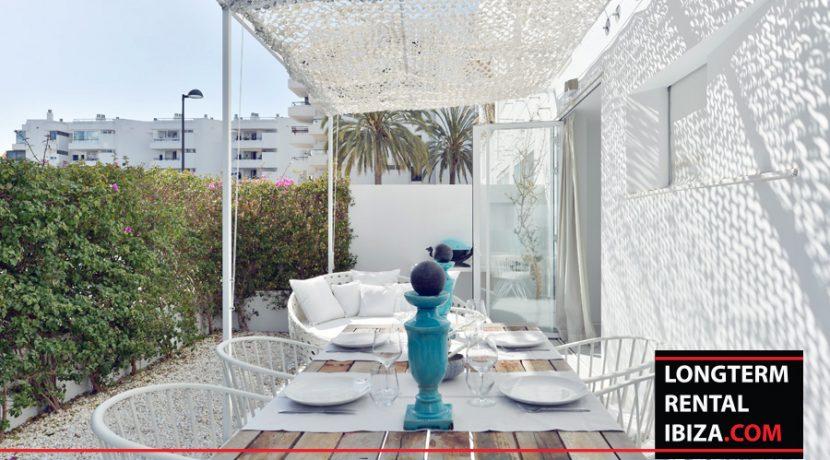 Long term rental Ibiza Patio Blanco with garden 19