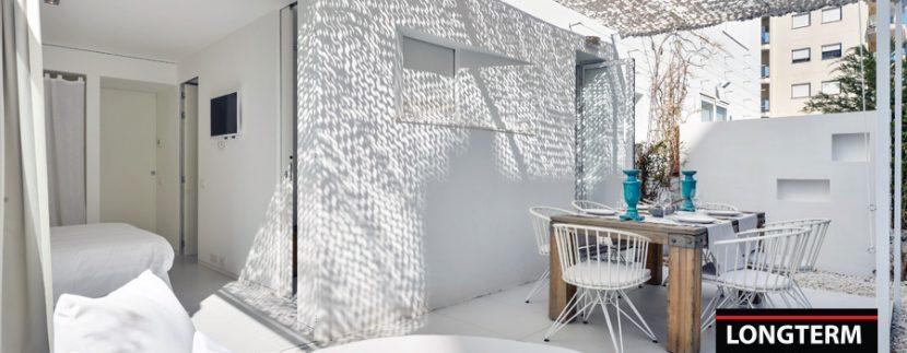 Long term rental Ibiza Patio Blanco with garden 21
