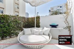 Long term rental Ibiza Patio Blanco with garden 22