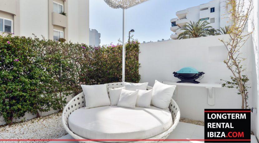 Long term rental Ibiza Patio Blanco with garden 22