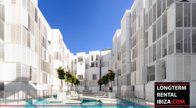 Long term rental Ibiza Patio Blanco with garden 23