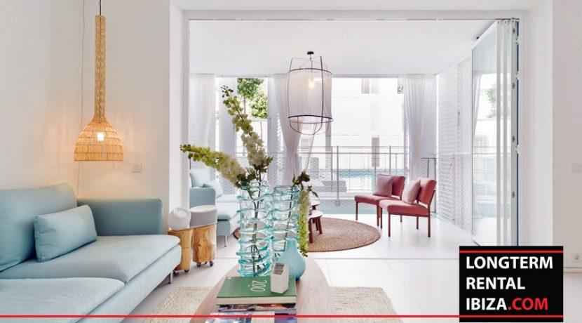 Long term rental Ibiza Patio Blanco with garden 4