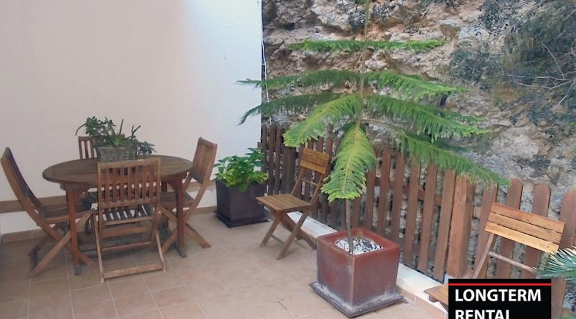 Long term rental ibiza Apartment Portinax 1