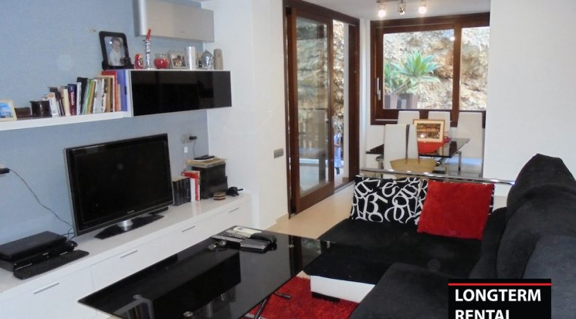 Long term rental ibiza Apartment Portinax 4