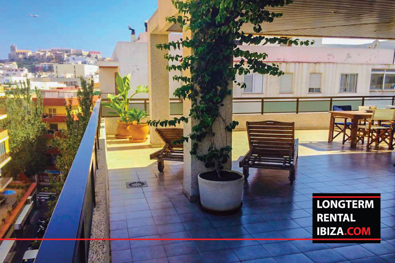 Long term rental ibiza Atico Angel