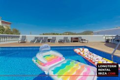 Long term rental Ibiza Penthouse Grande Allure 14