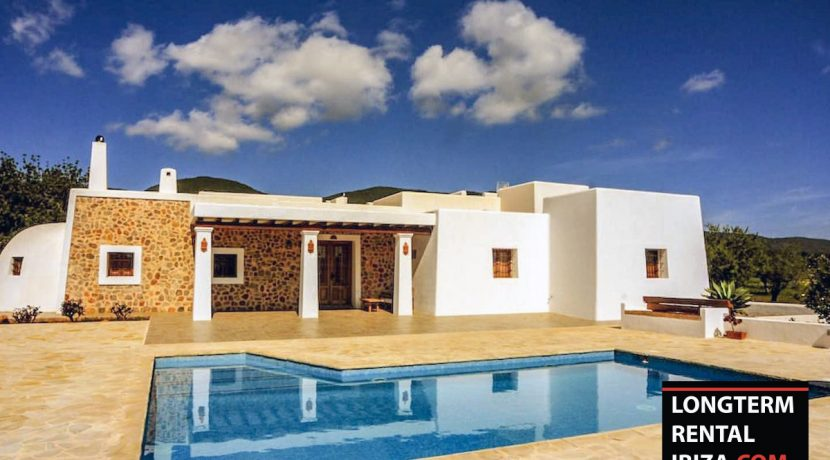 Long term rental ibiza Villa Ibico