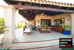long term rental ibiza villa Cova 13