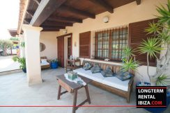 long term rental ibiza villa Cova 3