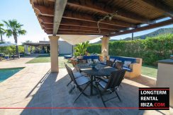 long term rental ibiza villa Cova 4
