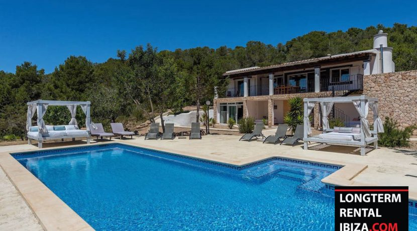 Long term rental Ibiza - Villa L eau