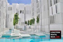 Long term rental Ibiza Patio blanco