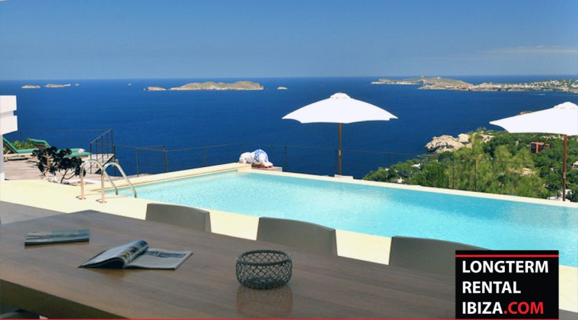 Long term rental Ibiza Villa Amor 25