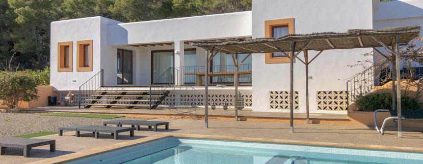 Long term rental ibiza Villa Dos Valles