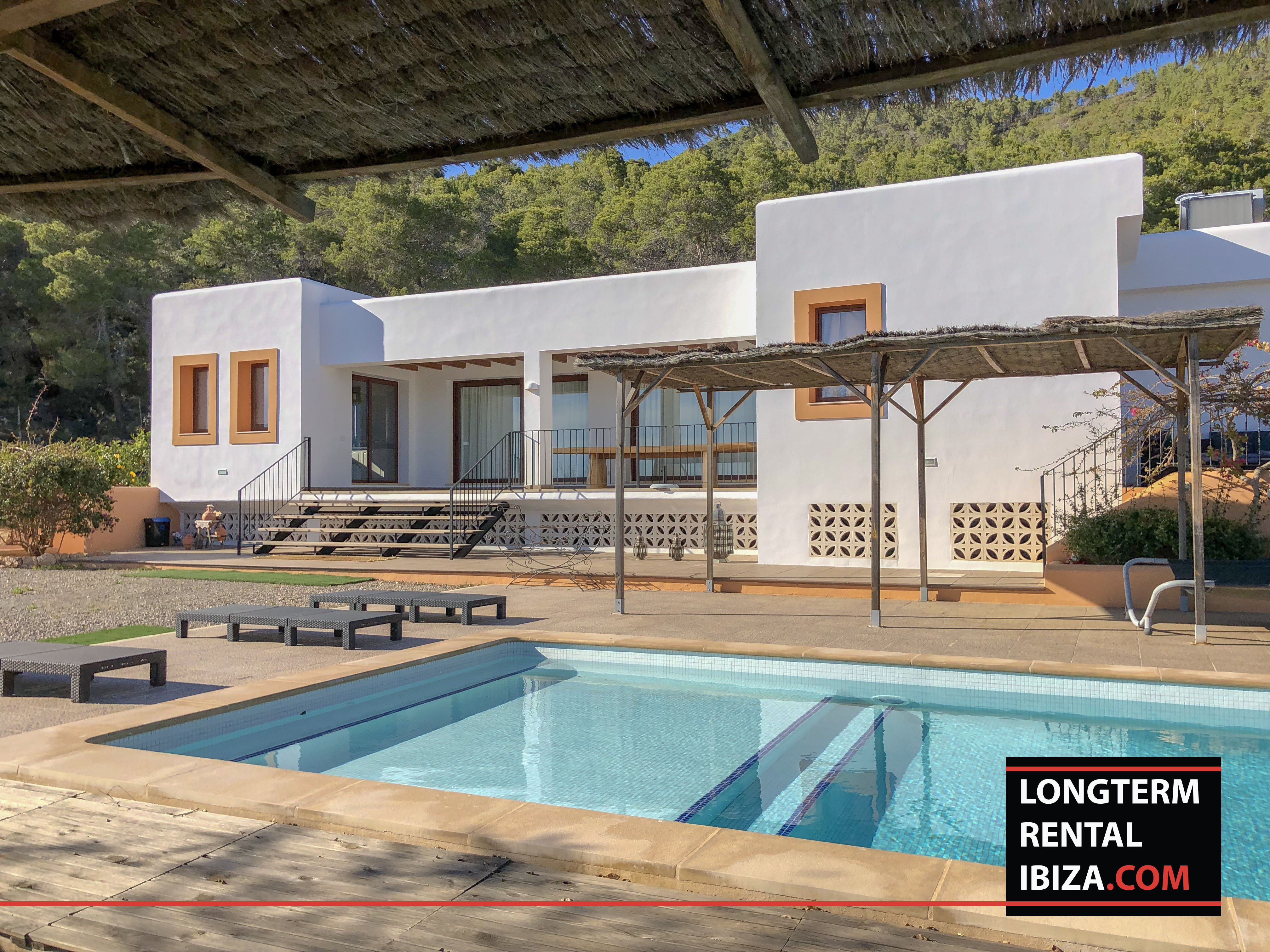 Long term rental ibiza Villa Dos Valles
