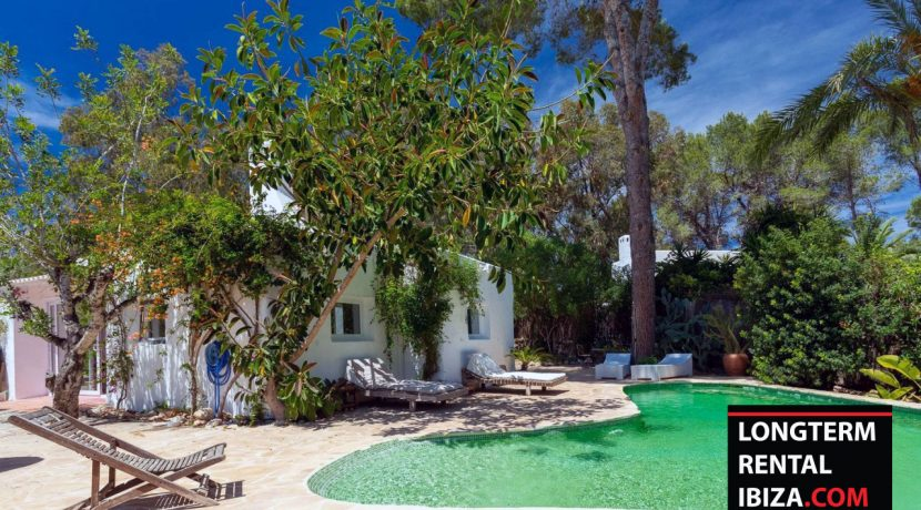 Long term rental Ibiza - Villa Privilege - San Rafael