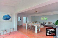 Long term rental Ibiza - Villa Privilege - San Rafael 10
