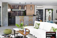 ong term rental Ibiza - Villa des Torrent 5