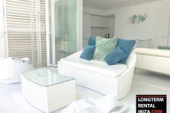 Long term rental Ibiza - Patio Blanco Cipriani