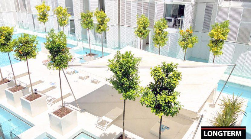 Long term rental Ibiza - Patio Blanco Cipriani 14