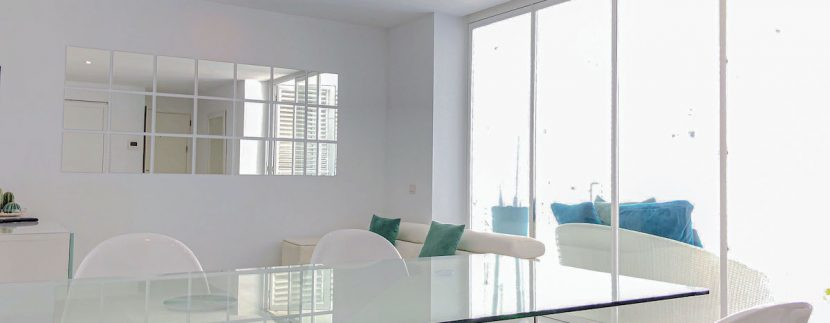 Long term rental Ibiza - Patio Blanco Cipriani 3