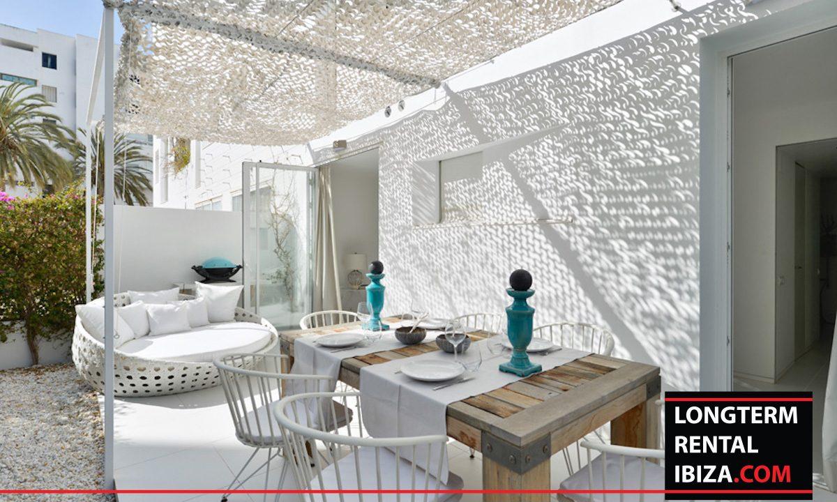 Long term rental Ibiza - Patio Blanco Jardín 19