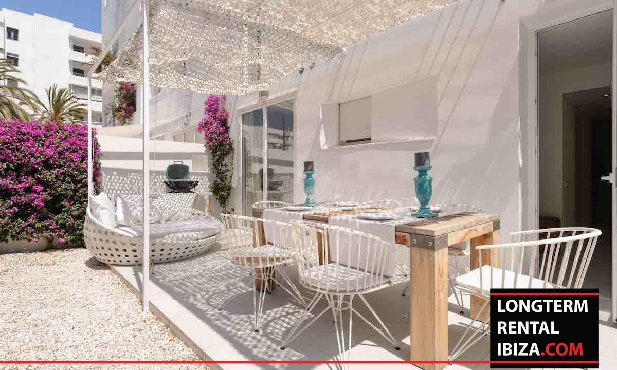 Long term rental Ibiza - Patio Blanco Jardín 24