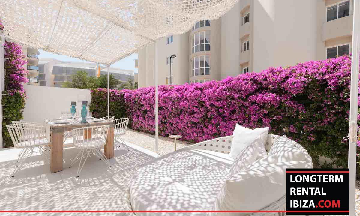 Long term rental Ibiza - Patio Blanco Jardín 26