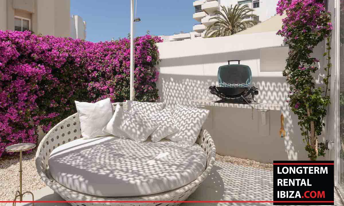 Long term rental Ibiza - Patio Blanco Jardín 27