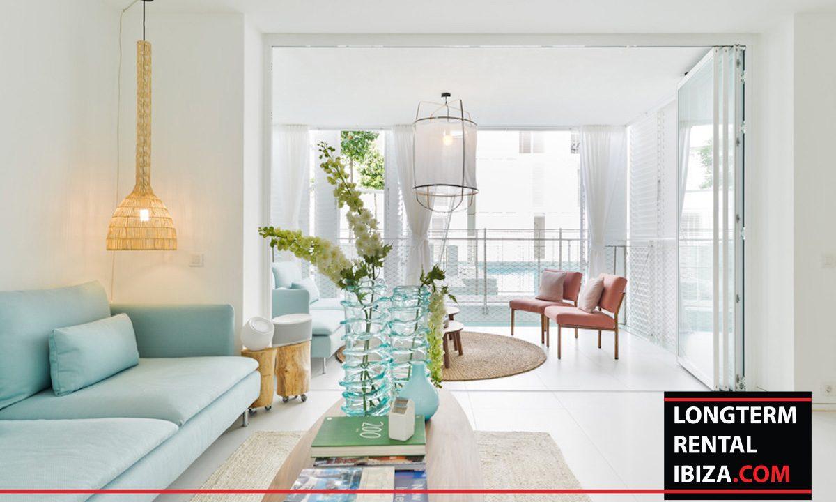 Long term rental Ibiza - Patio Blanco Jardín 6