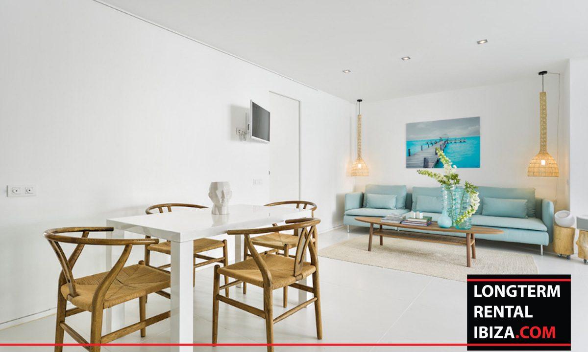 Long term rental Ibiza - Patio Blanco Jardín 8